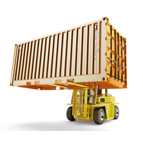 container equipment gps