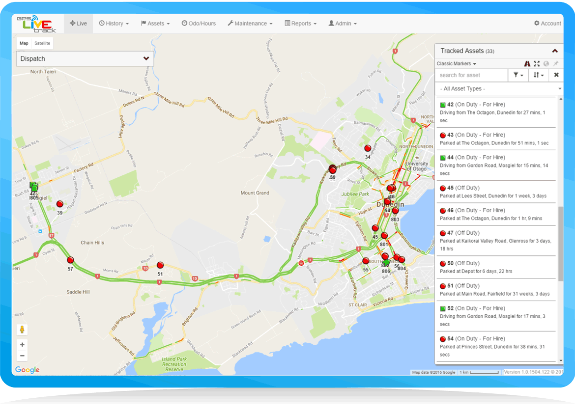 live view gps tracking software